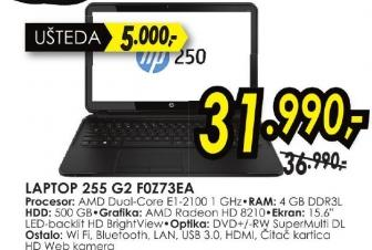 Laptop 255 G2 F0z73ea