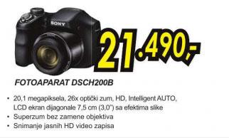 Digitalni fotoaparat Cyber-shot DSC-H200B