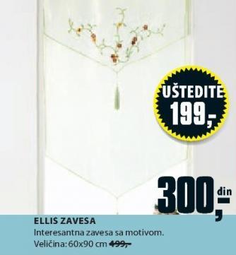 Zavesa Ellis