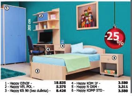 Krevet Happy Kr 90