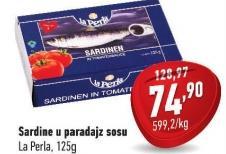 Sardina u paradajz sosu