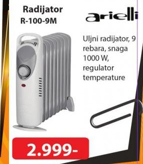 Radijator R-100-9M, Arielli