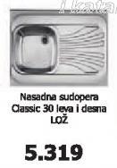 Sudopera Classic 30 Lož