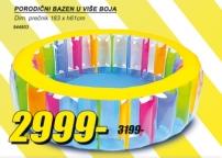 Porodični bazen,u više boja