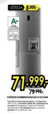 Kombinovani frižider GB-5133SVAW