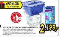 bokal za filtriranje vode GRAND NEO PLAVI+Poklon: Dodatna filter patrona