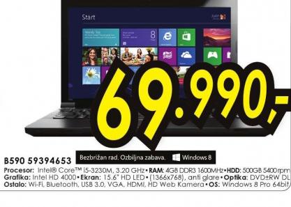 Laptop IdeaPad B590 59394653