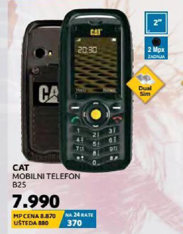 Mobilni telefon B25 Dual Sim