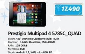 Tablet multipad 4 5785C_Quad