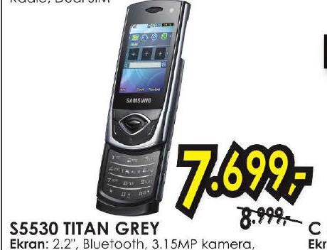 Mobilni telefon S5530 TITAN GREY