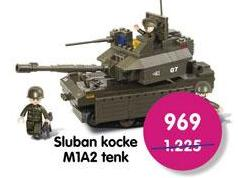 Igračka kocke Tenk M1A2