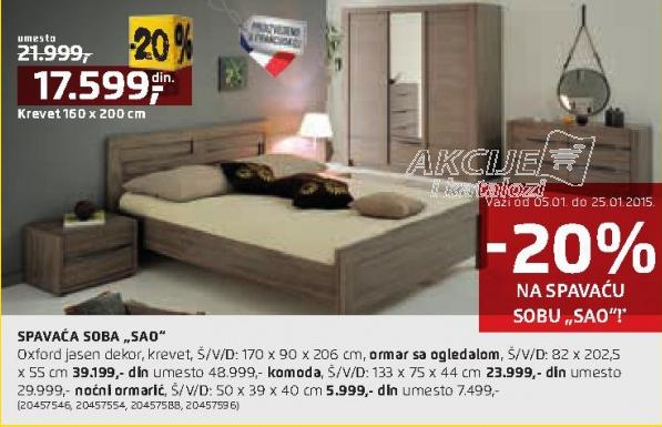 Krevet Sao