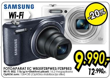 Digitalni fotoaparat Ec Wb35fzbpwe3/fzbpbe3