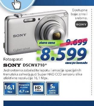 Fotoaparat DSCW710B
