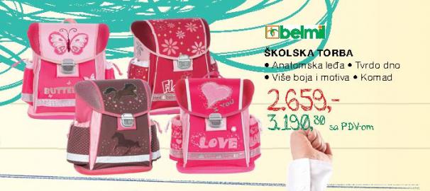 Školska torba, Belmil