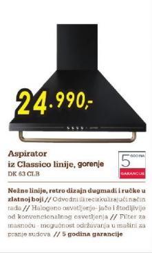 Aspirator Dk 63 Clb