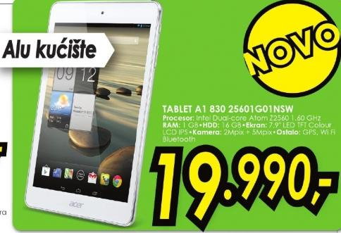 Tablet A1 830 25601g01nsw