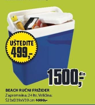 Ručni frižider BEACH