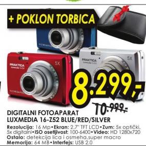 Digitalni fotoaparat Luxmedia 16-Z52