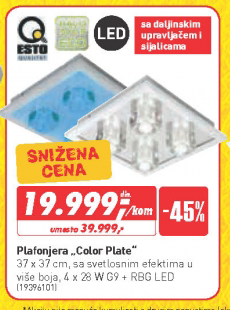 Plafonjera Color Plate