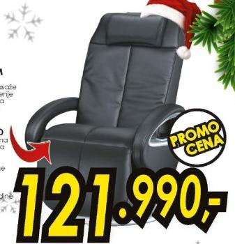 Fotelja MC 3800 za šijacu masažu 3D