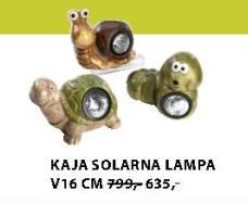 Lampa solarna KAJA