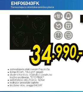 Ugradna ploča EHF 06343 FK