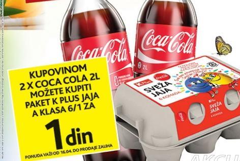 Kupovinom Coca Cole