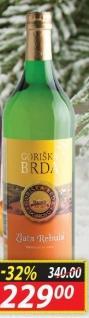 Belo vino Zlata Rebula