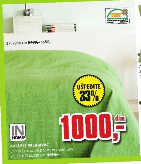 Akeleje prekrivač