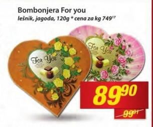 Bombonjera For you
