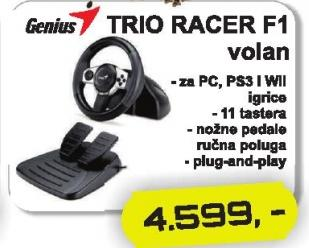 Volan Trio Racer F1