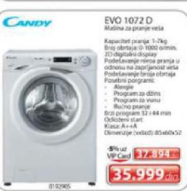 Veš mašina EVO 1072 D