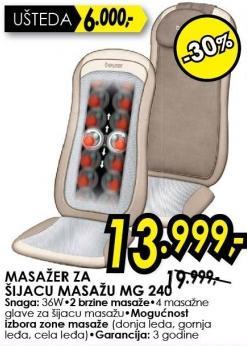 Masažer za šijacu masažu Mg 240