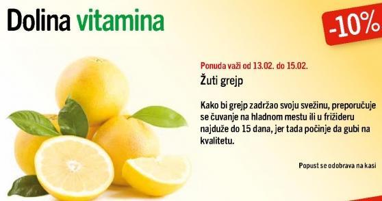 Žuti grejp -10%