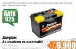 Akumulator za automobil ENERGIZER