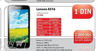 Mobilni telefon A516