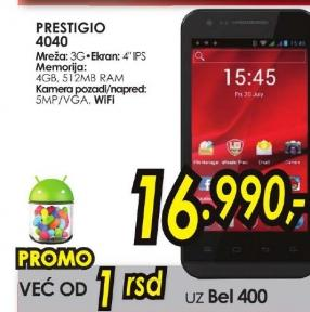 Mobilni telefon MultiPhone PAP4040