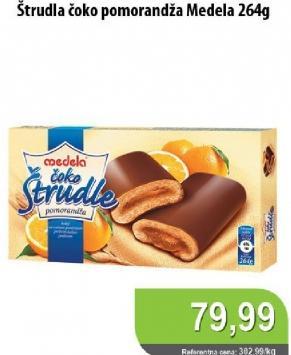 Štrudla čokolada i narandža