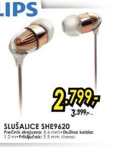 Slušalice SHE9620