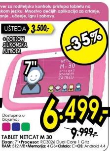 Tablet NetCat M30