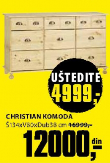 Komoda Christian