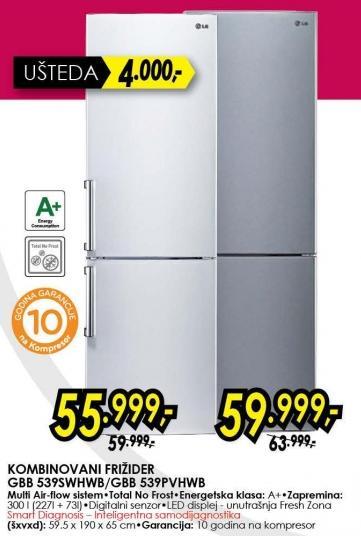 Kombinovani frižider Gbb 539pvhwb