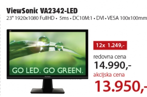 Monitor LED VA2342