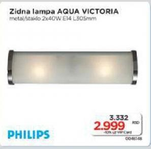 Zidna  lampa Aqua Victoria