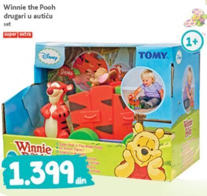 Igračka Winnie the Pooh