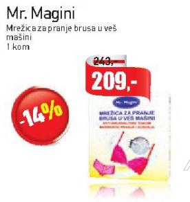 Mr. Magini mrežica za pranje brusa u veš mašini