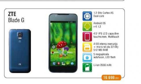 Mobilni Telefon Grand S Flex