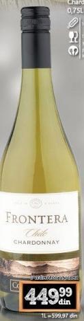 Belo vino Chardonnay Frontera