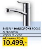 Jednoručna Slavina Hansgrohe Focus